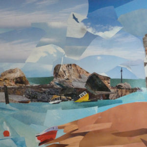 Linda Littlejohns -Cornish Collage Artist